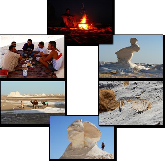 Reisebericht Ägypten 2009  Schwarze & Weisse Wüste  HDWORLD