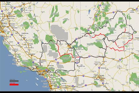 Rundreise S 252 Dwesten Usa Winter 2010 Hdworld
